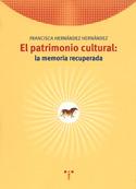 Portada El patrimonio cultural. La memoria recuperada (A)