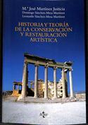 Portada Historia y teoría de la conservación y la restauración artística