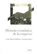 Portada Historia económica de la empresa