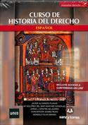 Portada Manual de historia del Derecho español