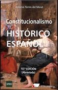 Portada Constitucionalismo histórico español
