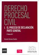 Portada Derecho Procesal Civil I. El proceso de declaración parte general