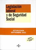 Portada Legislación laboral y de Seguridad Social