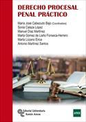 Portada Casos prácticos de derecho procesal penal(A)