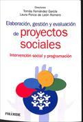 Portada Elaboración, gestión y evaluación de proyectos sociales