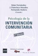 Portada Psicología de la Intervención Comunitaria