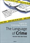 Portada The Language of Crime. English for criminology students