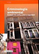 Portada Criminología ambiental. Ecología del delito y seguridad