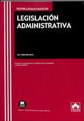 Imagen de Legislación administrativa