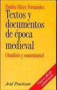Textos y documentos de época medieval. Análisis y comentario