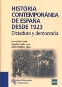 Historia contemporánea de España. Desde 1923