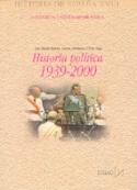 Portada Historia política 1939 2000