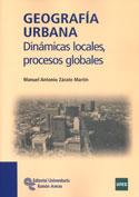 Portada Geografía urbana. Dinámicas locales, procesos globales