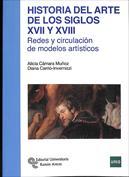 Portada Historia del arte de los siglos XVII y XVIII. Redes y circulación de modelos artísticos