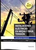 Instalaciones eléctricas en media y baja tensión