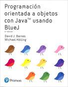 Portada Programación orientada a objetos con Java usando BlueJ