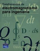 Portada Fundamentos de Electromagnetismo para ingeniería(D)