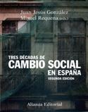 Portada Tres décadas de cambio social en España