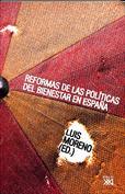Portada Reformas de las políticas del bienestar en España