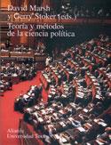 Portada Teoría y métodos de la ciencia política(A)