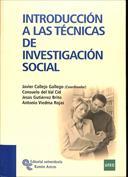 Portada Introducción a las técnicas de investigación social