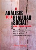 Portada El análisis de la realidad social. Métodos y técnicas de investigación social