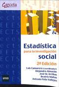 Portada Estadística para la investigación social