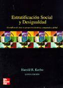 Estratificación social y desigualdad. El conflicto de clases en perspectiva histórica, comparada y global.
