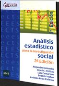 Portada Análisis estadístico para investigación social