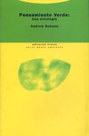 Pensamiento verde. Una antología