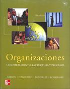 Portada Organizaciones. Comportamiento, estructura y procesos (D)
