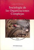 Portada Sociología de las organizaciones complejas