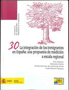 Portada La integración de los inmigrantes en España Una propuesta de medición a escala regional