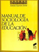 Manual de sociología de la educación