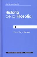 Historia de la Filosofía I. Grecia y Roma