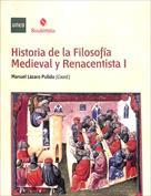 Portada Historia de la filosofía medieval y renacentista I
