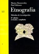 Etnografía. Métodos de investigación