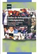 Portada Textos de Antropología Contemporánea