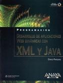 Portada Desarrollo de aplicaciones Web dinámicas con XML y Java