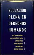 Portada Educación plena en derechos humanos