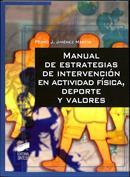Portada Manual de estrategias de intervención en actividad física, deporte y valores