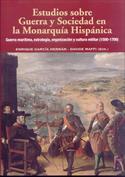 Portada Estudios sobre Guerra y Sociedad en la Monarquía Hispánica