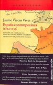 España contemporánea, 1814-1953