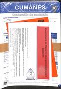 CUMANES. Kit corrección Ref 2N1201 (25 Cuadernillos de anotación, 25 Ejemplares, Pin 25 usos)